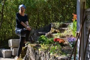 Silvia Appel ist das Gartenfräulein